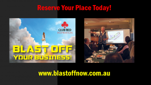 Blast Off Your Business is a seminar by Coach Tony Inman
