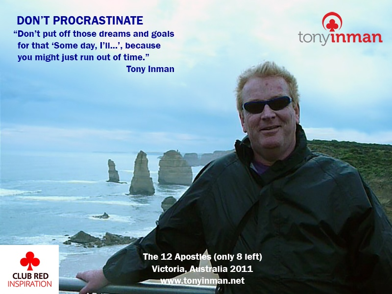 DONT-PROCRASTINATE-12-Apostles-2011
