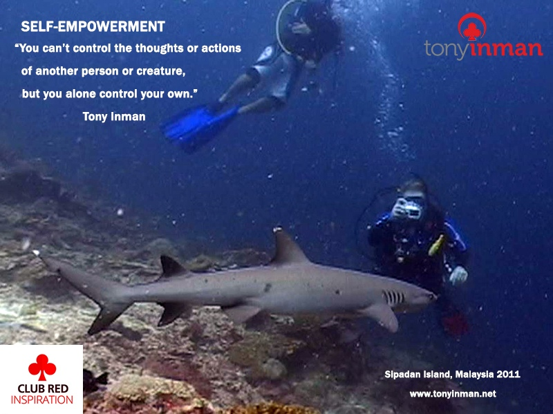 SELF-EMPOWERMENT-Sipadan-shark-2011