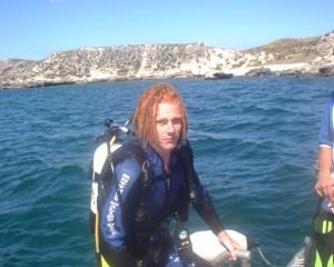 Craig Inman diving