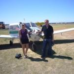 Flying small aircraft