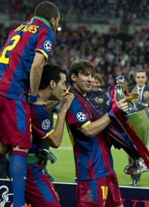 Barcelona the Champions