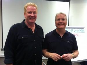 Tony Inman with Carl Buchheit