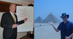Tony Inman not only teaches 'Living the Dream' - he does it!