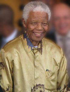 Nelson Mandela - Former President of South Africa
