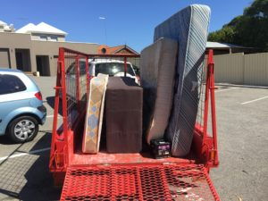 Club Red Strata Cleaning has a bulk rubbish removal service