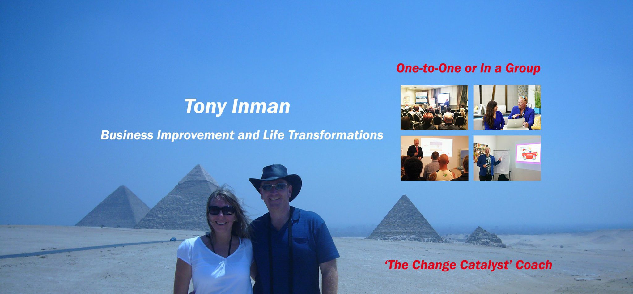 Business Mentor and Life Coach Tony Inman can help you grow your business and transform your life